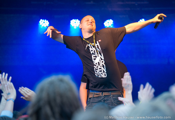 Clayne (eypro) beim Double A Festival in Aalen