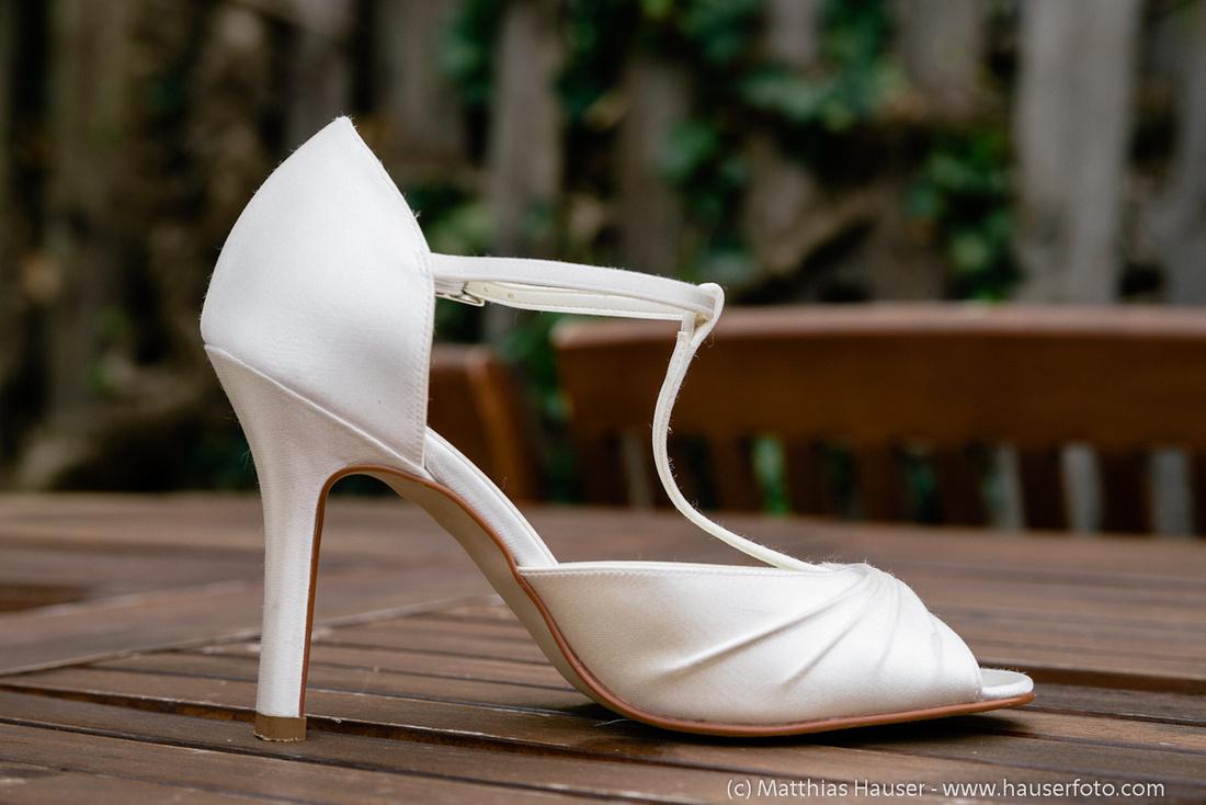 Hochzeit - Schuhe der Braut