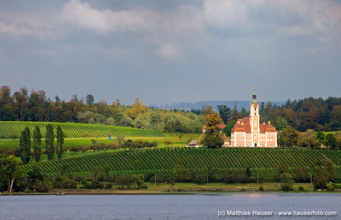 Wallfahrtskirche Birnau, Bodensee, Baden-Württemberg, Deutschland, Europa - Birnau pilgrimage church, Lake Constance, Baden-Wuerttemberg, Germany, Europe
