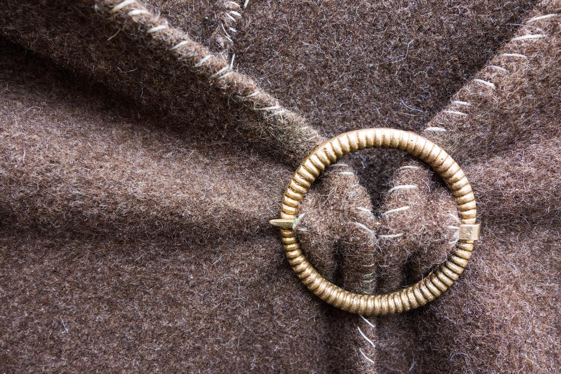 Stoff einer Kutte, Detail