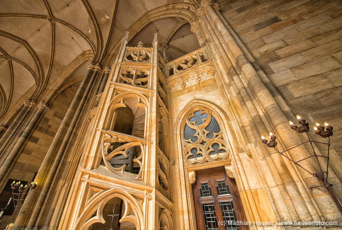 Dom St. Veit, Prager Burg, Prag, Tschechische Republik, Europa