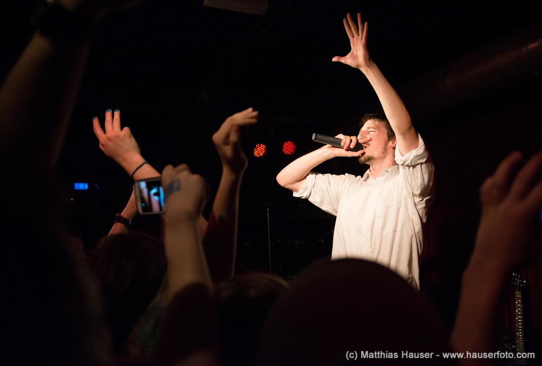 Rapper Alligatoah Frühtau zu Berge Tour im Keller Club Stuttgart