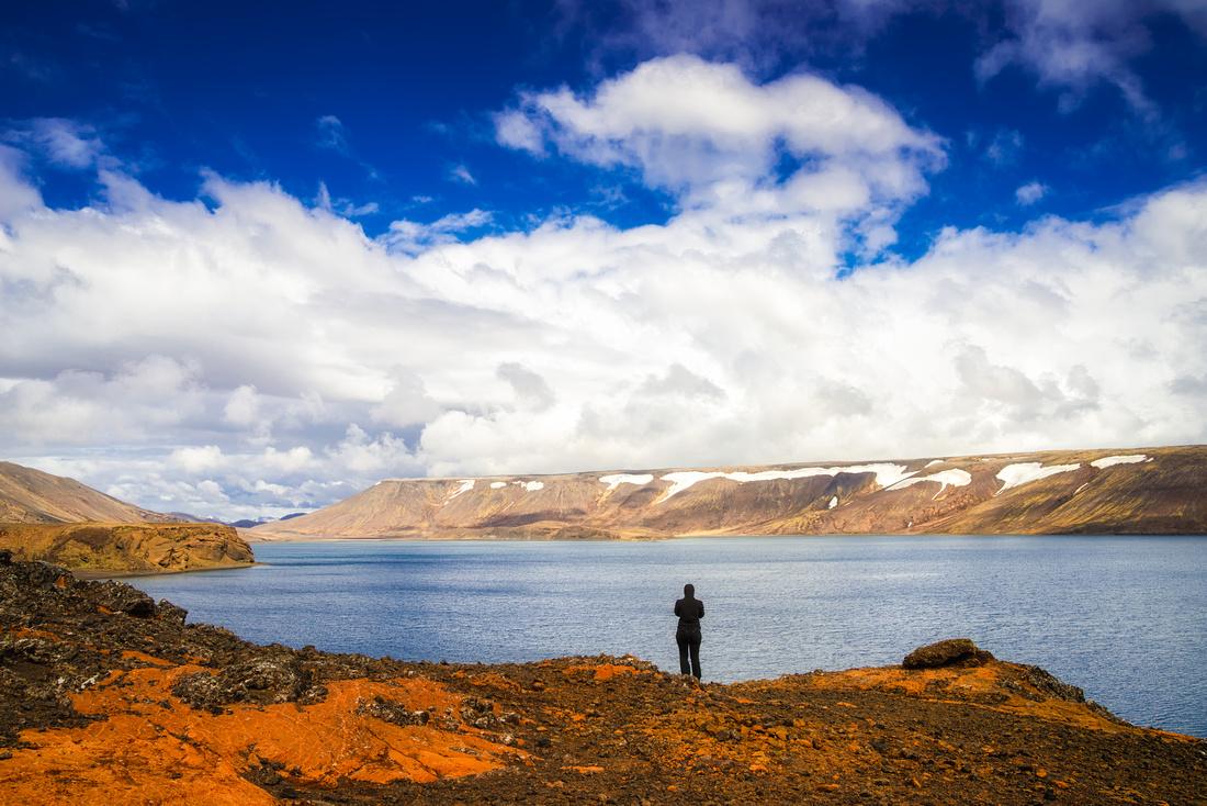 Lake Kleifarvatn Reykjanes Iceland Fine Art Print