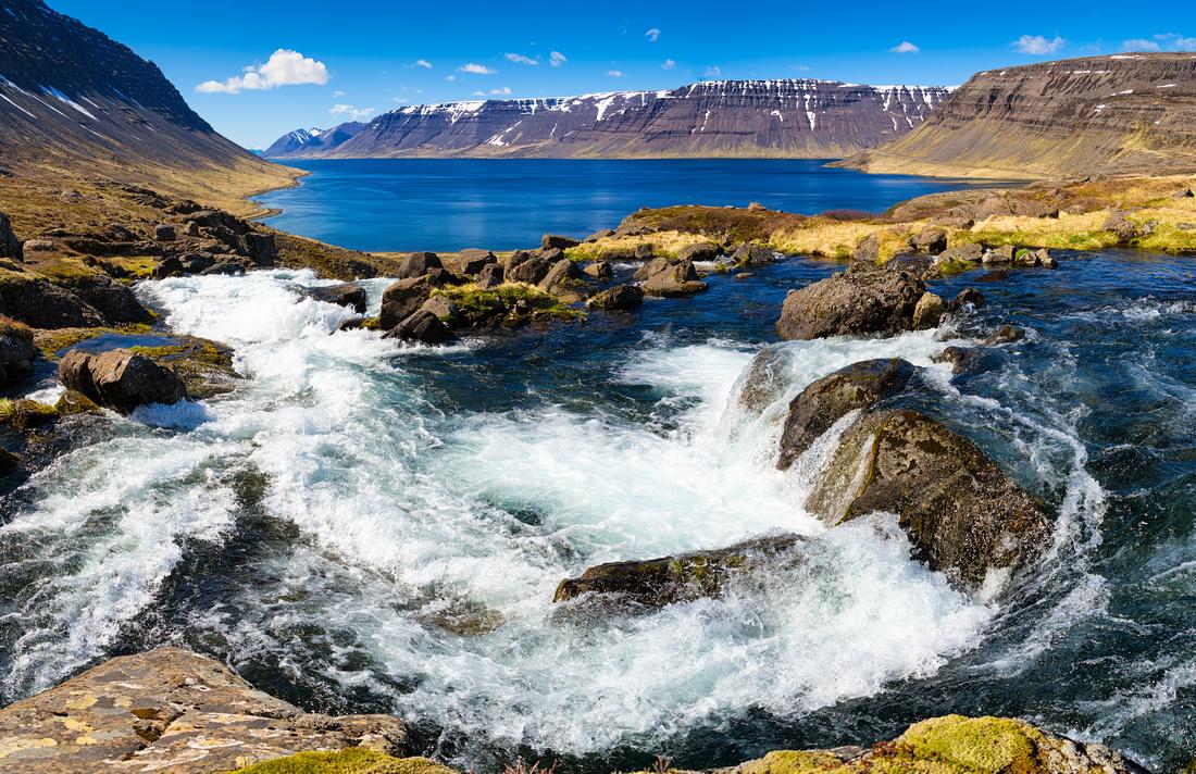 Arnarfjordur West Fjords Iceland