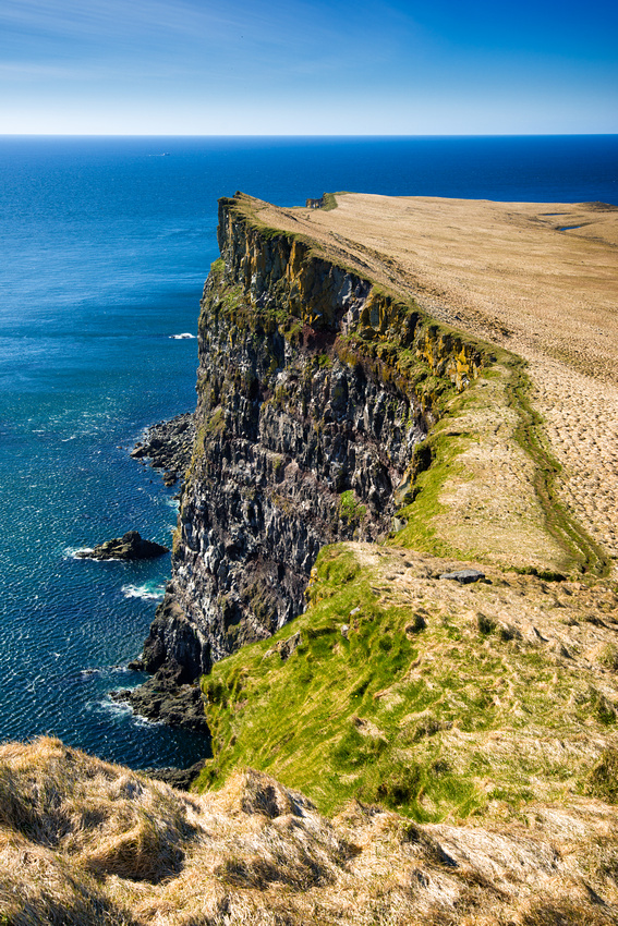 Latrabjarg cliffs in West Iceland
