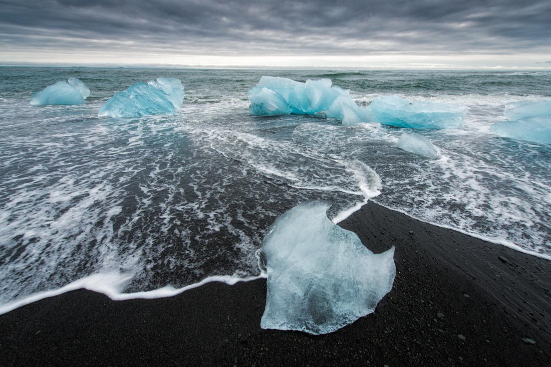 Ice in Iceland - fascinating Jokulsarlon
