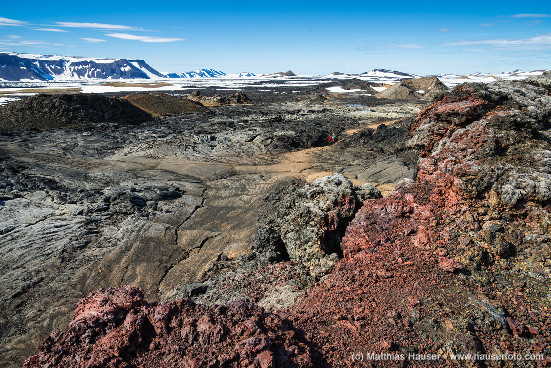 Leirhnjukur Krafla North Iceland