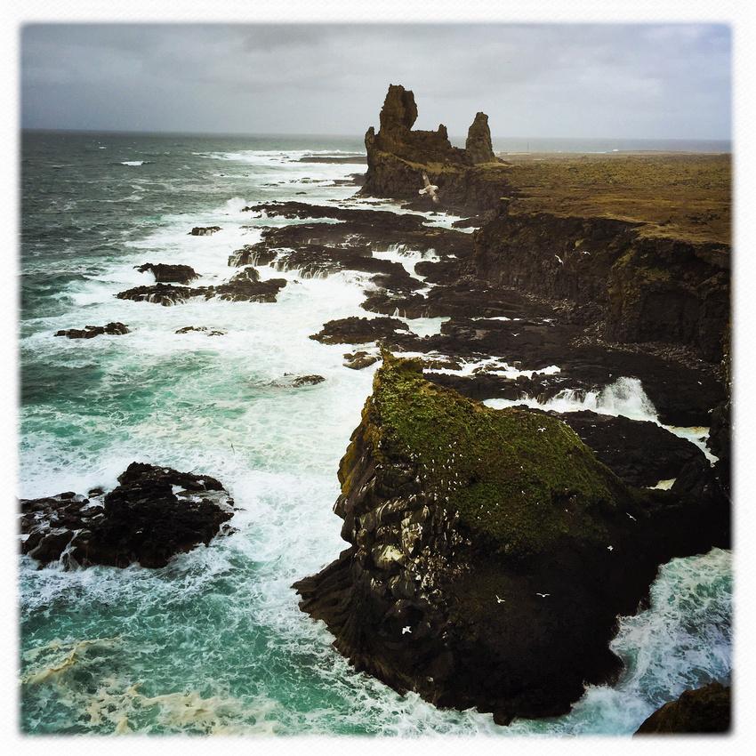 Snaefellsnes coast West Iceland