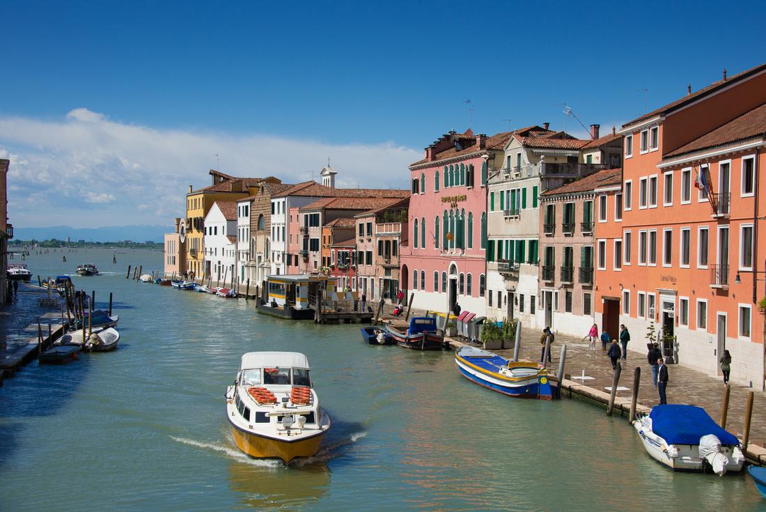 Cannaregio sestiere Venice Italy