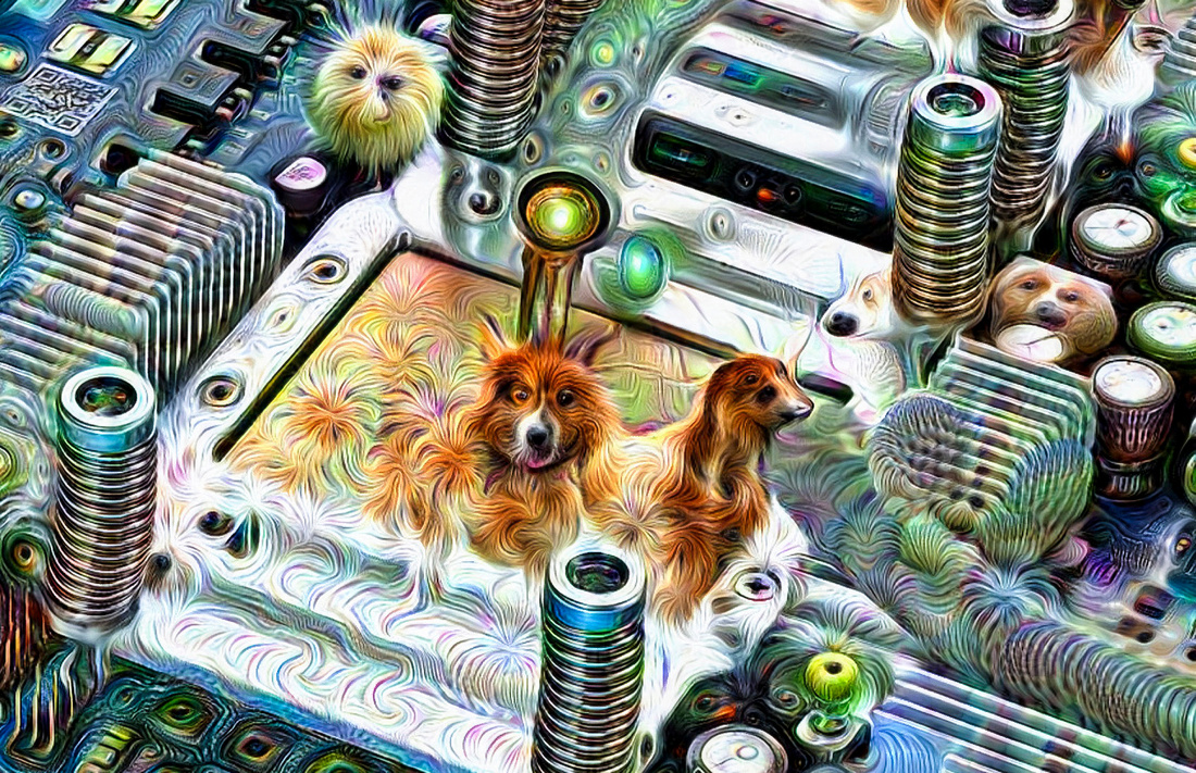 Google TPU Deep Dream detail