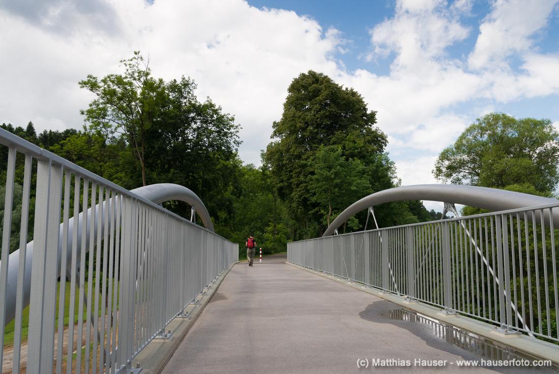 Brücke bei der Burkhardtsmühle zwischen Waldenbuch und Neuenhaus