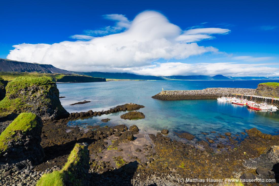 Arnarstapi harbor Iceland