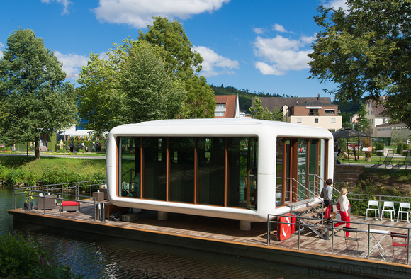 Landesgartenschau Nagold 2012 - Functionality Cube Firma Häfele an der Nagold