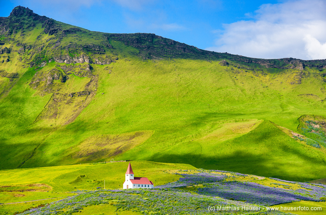 Church in Vik South Iceland Europe