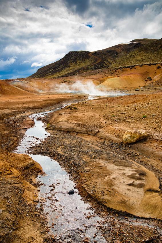 Krysuvik Seltun geothermal area Iceland
