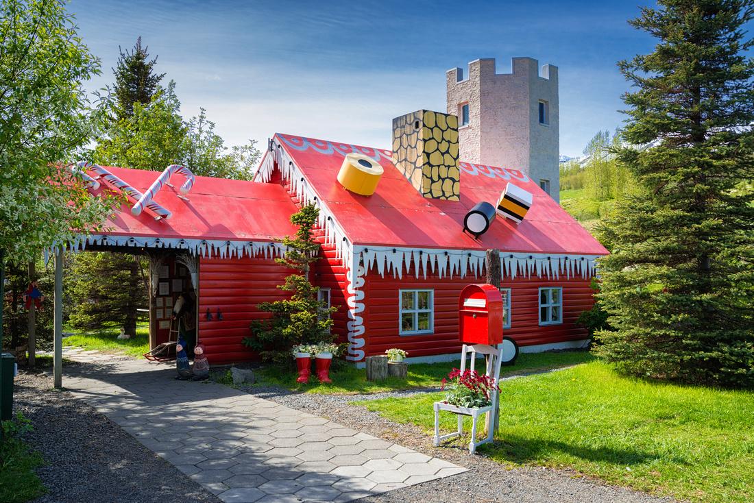 Jolagardurinn Christmas garden in Iceland