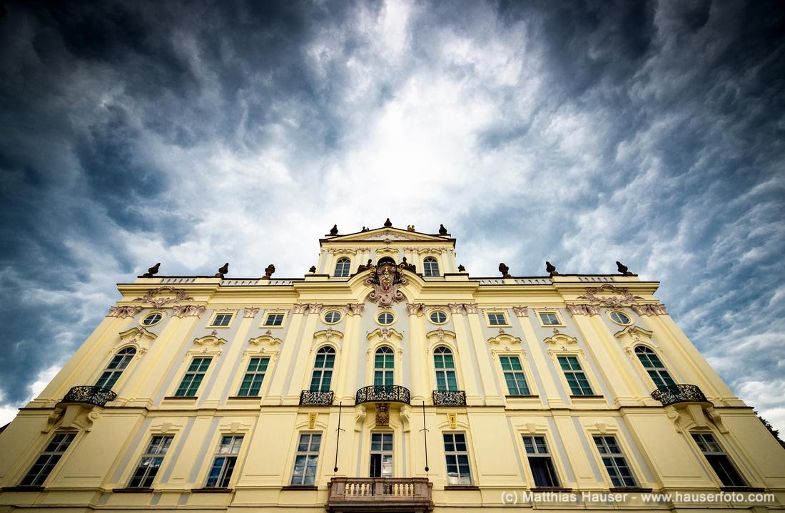 Erzbischöfliches Palais, Hradschiner Platz, Prager Burg, Prag, Tschechische Republik, Europa