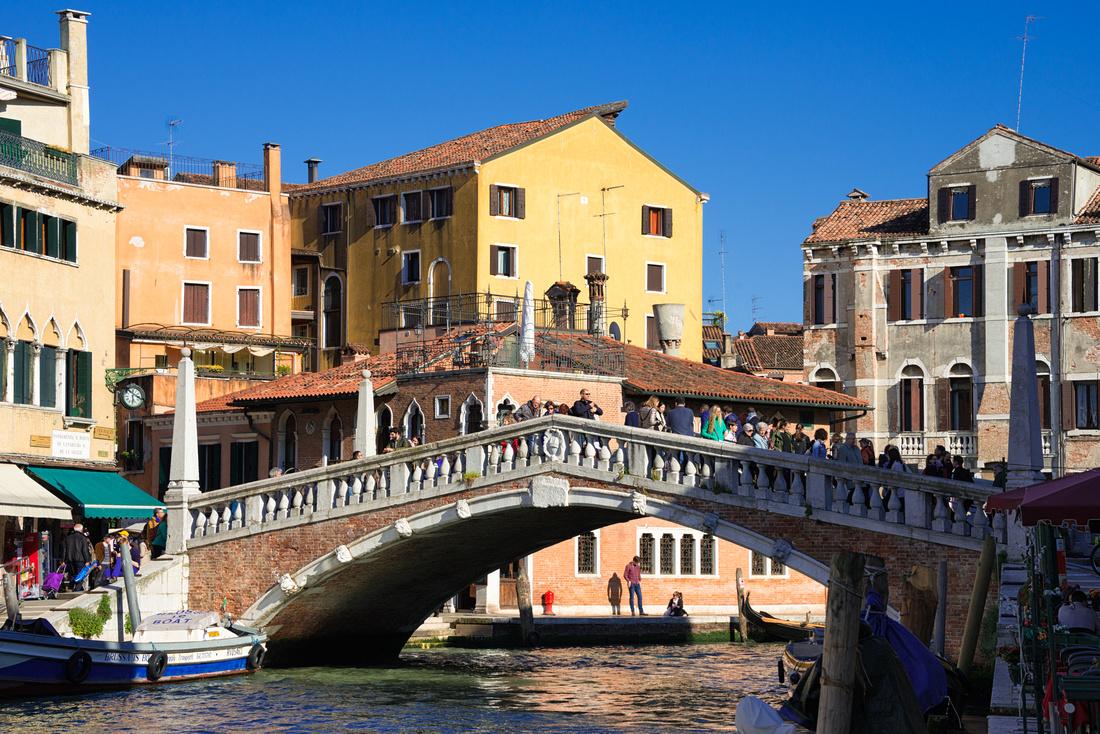 Ponte delle Guglie Venice Italy