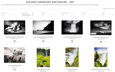 Iceland Photos Fine Art Gallery