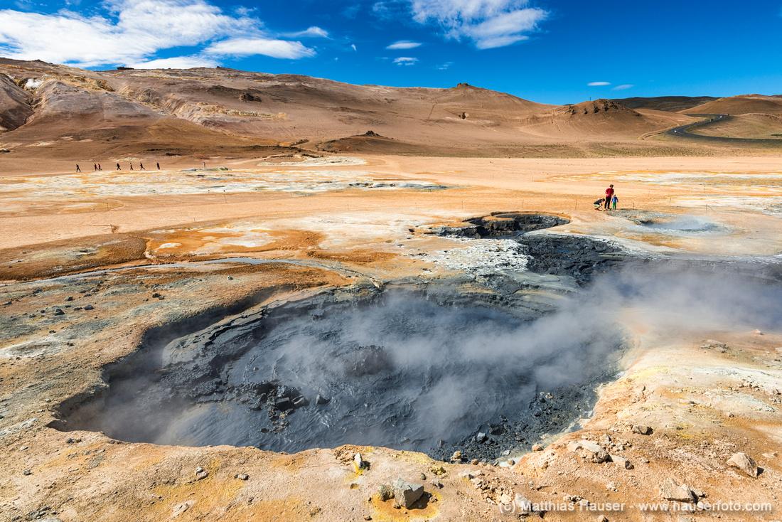 Hverir Hveraröndor Hochtemperaturgebiet Geothermal area Island Iceland