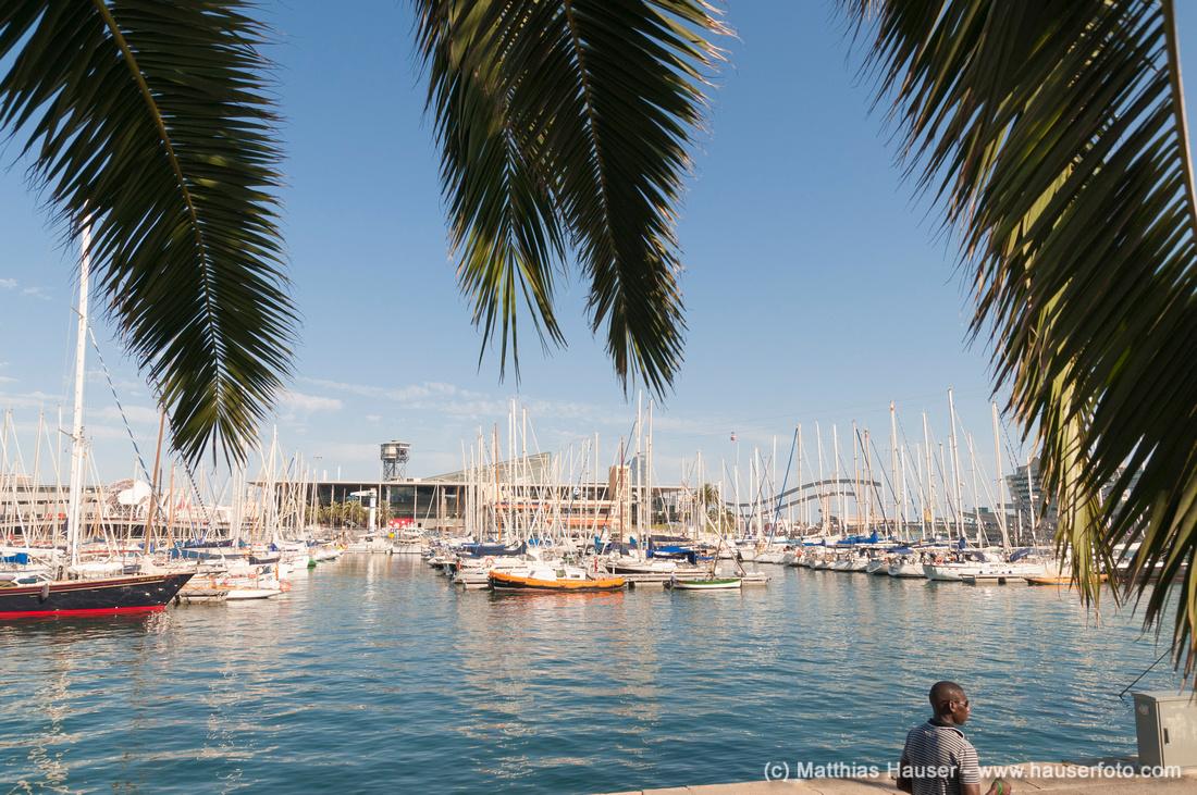 Hafen von Barcelona, Spanien
