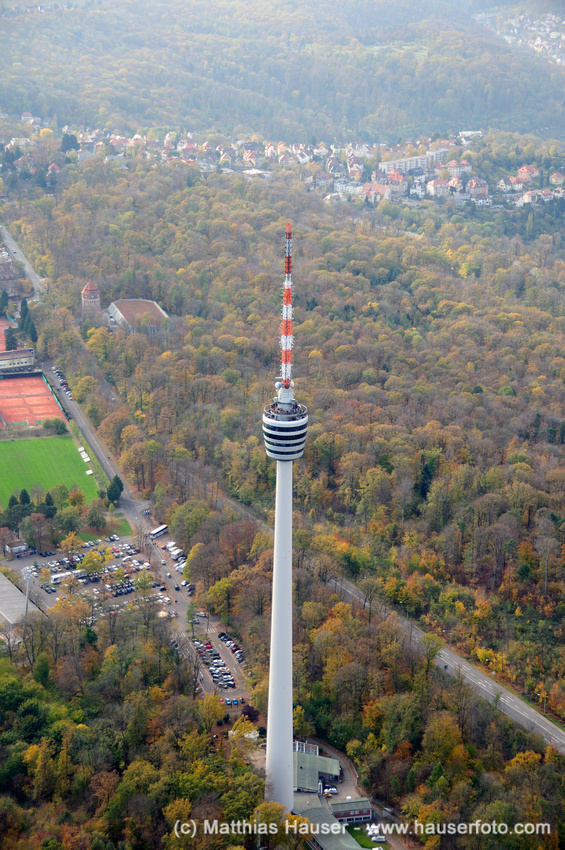 Fernsehturm Stuttgart - eines der Wahrzeichen Stuttgarts