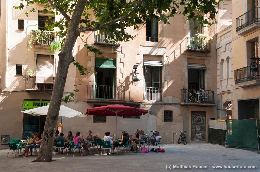 Placeta del Pi in Barcelona, Spanien