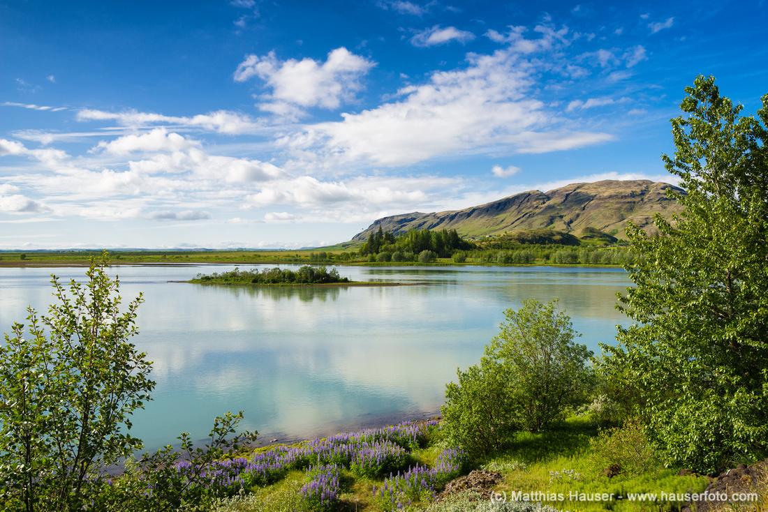 Hvita Iceland Island