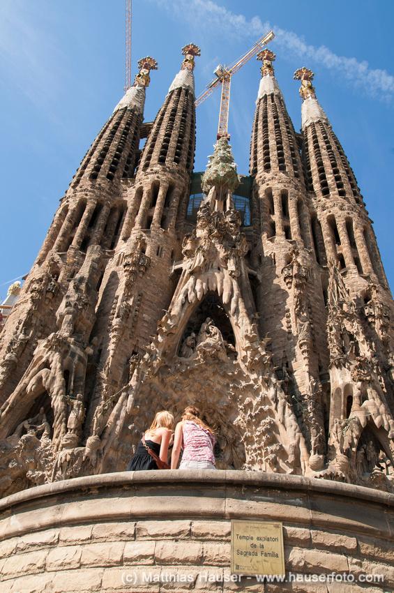 Sagrada Familia in Barcelona, Spanien