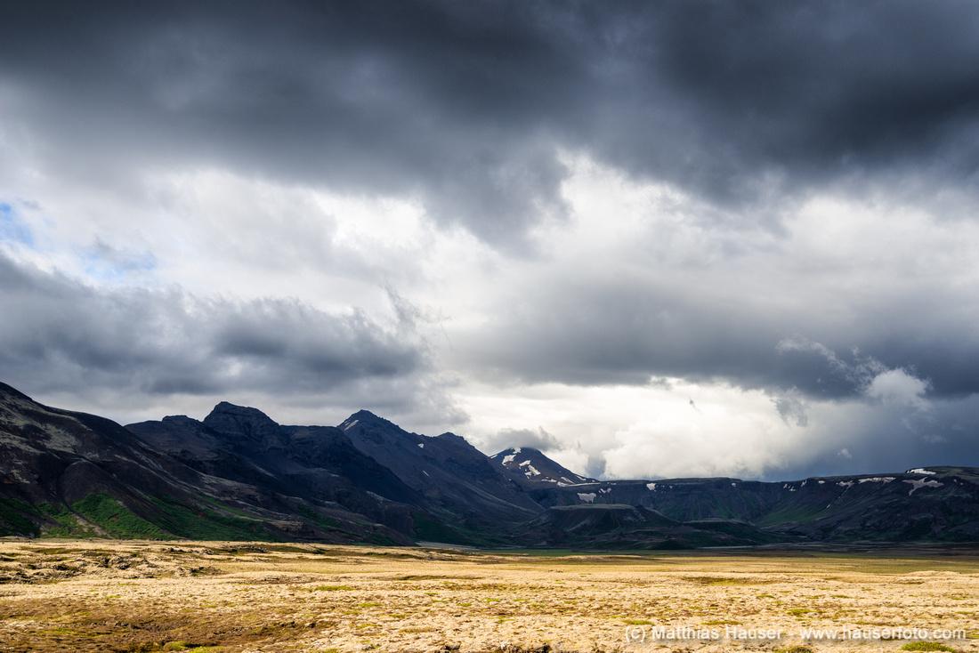 Landschaft in Island - Landscape in Iceland