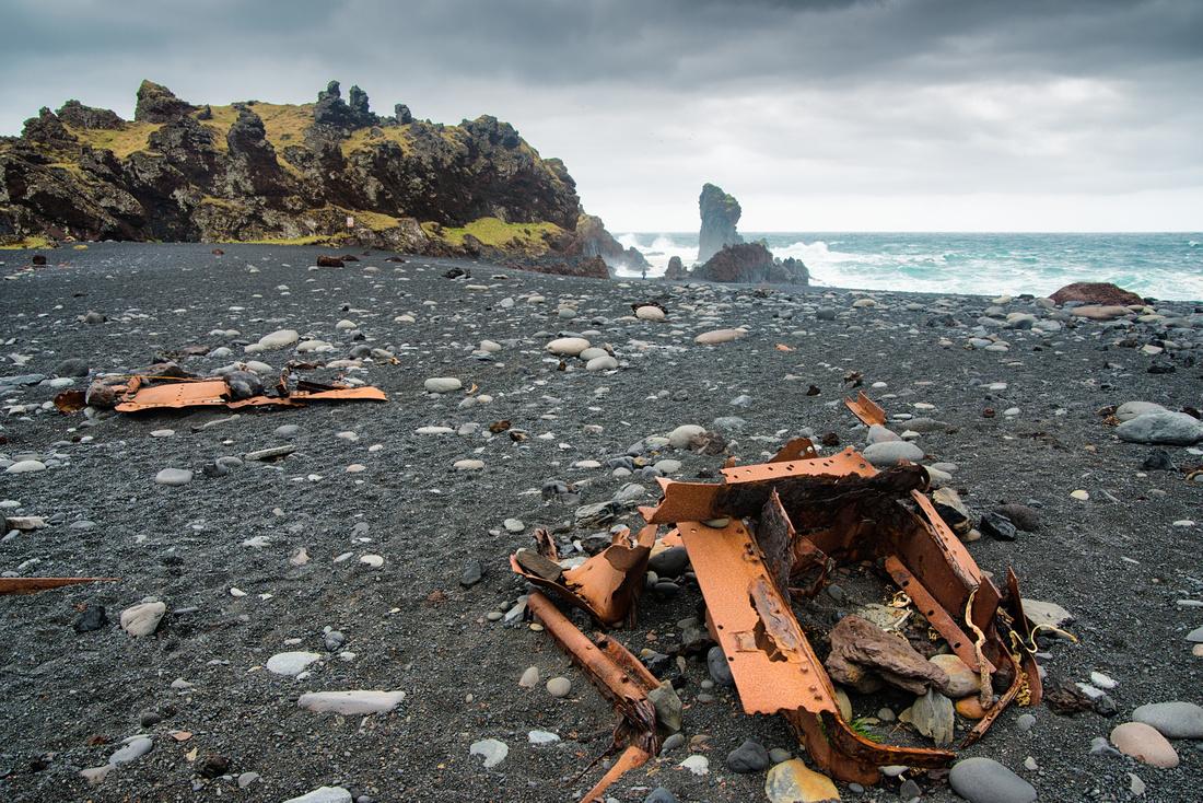 Dritvik beach Snaefellsnes Iceland