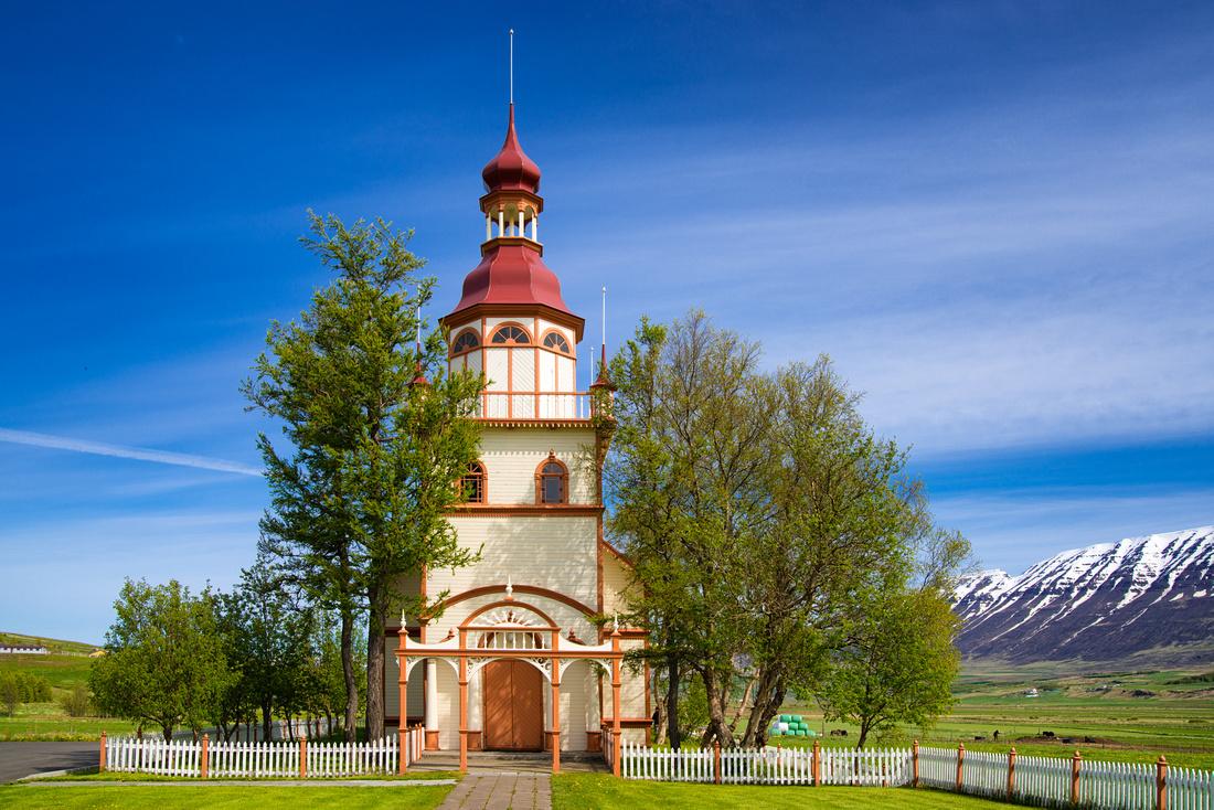 Grundarkirkja church in Iceland