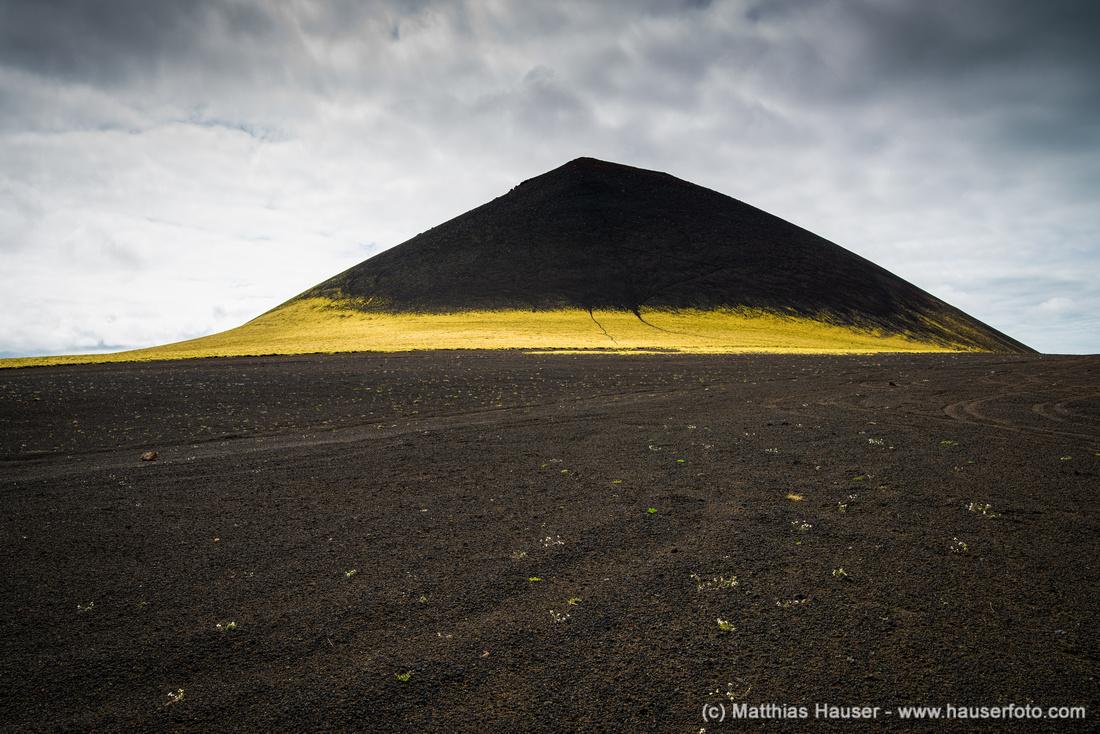 Minimalistische Landschaft in Island - Minimalist landscape in Iceland