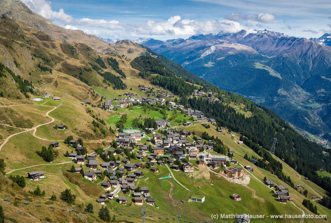 Riederalp, Wallis, Schweiz - Riederalp, Valais, Switzerland